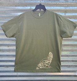 Unisex T-Shirt w/Chicken