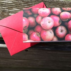 Apple Crate Notecard