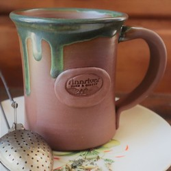 Laughing Gnome Pottery Logo Mug
