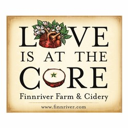 Love is at the Core Sticker